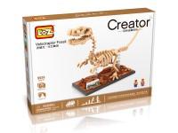 Dinosaurio Velociraptor Loz 620 piezas