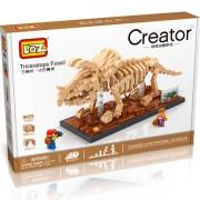 Dinosaurio Triceratops Loz 660 piezas