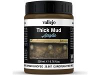 Vallejo Textura Barro Denso Europ. 200ml