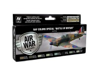 Set Air War RAF Battle of British 8 col.