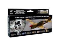 Set Air War US Army (MTO) WWII 6 colores