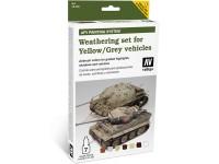 Set Weathering Yellow - Grey Vehicles 6c