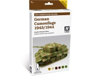 Set AFV German Camouflaje 1943-44 6col