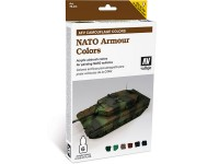 Set AFV Nato Armour Colors 6 colores