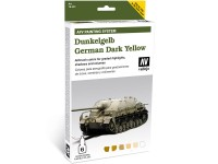 Set AFV Dunkelgelb German Yellow 6 color