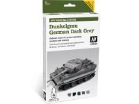 Set AFV Dunkelgrau German Dark Grey 6col