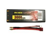 Batería Lipo7,4V-2S 3000mAh Dean