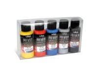Set de Colores Metálicos Premium 5uds