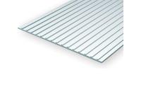 Evergreen Seam Roof 15x30cm 1mm sp 6,3mm