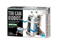 Juego construcción 4M Tin Can Robot