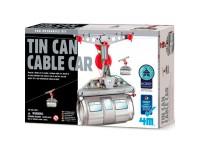 Juego construcción 4M Tin Can Cable Car
