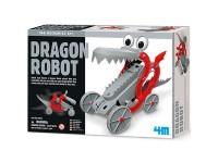 Juego construcción 4M Dragon Robot