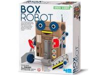 Juego científico 4M Box Robot