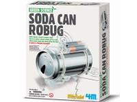 Juego científico 4M Soda Can Robug