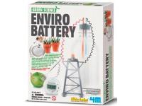 Juego científico 4M Enviro Battery