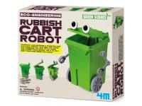 Juego científico 4M Rubbish Cart Robot