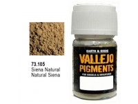 Pigmento Vallejo Siena Natural 35ml