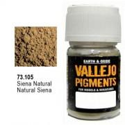 Pigmento Vallejo Siena Natural 35ml