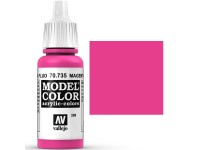 Model Color Magenta Fluorescente 17ml (208)