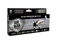 Set Air War 8 Day Fighters Pre-War 1941