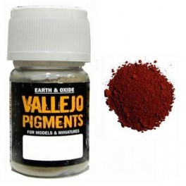 Pigmento Vallejo Siena Calcinado 35ml