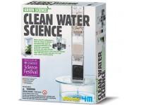 Juego científico 4M Clean Water Science