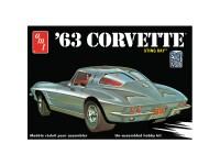 Maqueta AMT Chevy Corvette 1963 1:25