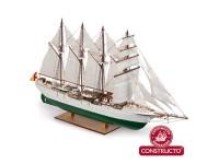 Constructo Casco Macizo J. S. Elcano