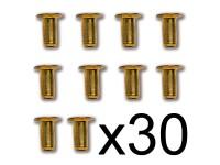 Constructo Ojete Latón 2,5X5mm (30)