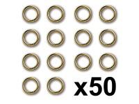 Constructo Anilla Latón 3X0,4mm (50)