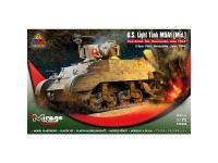 Mirage US Light Tank M5A1 Normandy 1/72