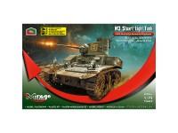Mirage M3 Stuart Light Tank 1/72