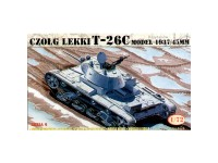 Mirage T-26C Light Tank 1937-45 Gun 1/72