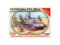 Mirage TKS-MG15 Vehicle + Trailer 1/35
