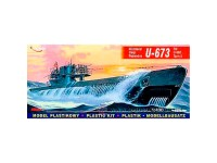 Mirage German U-Boot U-673 VIIC/T2 1/400