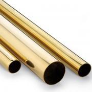 Tubo de latón 5x0,45mm (1metro)