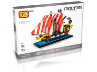 The Black Sea Barracuda Loz mini 653 pc