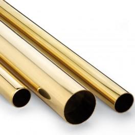 Tubo de laton 1x0,2mm  (1metro)