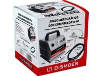 Juego Aerográfico Dismoer Compresor D-40