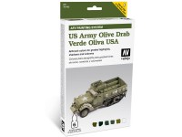 Set of 6 Model Air MAFV Olive Green USA 8 ml