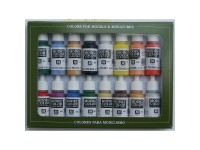 Set of 16 Model Basic Colors USA