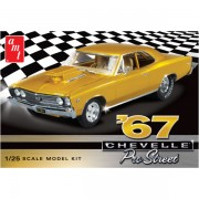 Maqueta Chevy Chevelle Pro Stt 1967 1:25