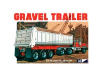 Maqueta MPC Axle Gravel Trailer 1:25