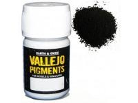 Pigmento Vallejo Negro Carbón (Humo) 35ml