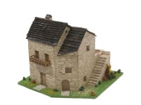 Block Cuit Rural House 2 HO Scale