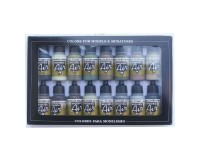 Set of 16 Colours Model Air Allied Forces WWII