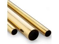 Tubo de laton 1,3x0,2mm (1metro)