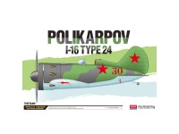 Academy Avión Polikarpov I-16 Type 24 1/48
