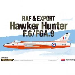 Academy Avión RAF & Exp. Ver. Hawker Hunter 1/48