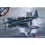 Academy Avión USN SBD-5 Bat. Philippine Sea 1/48
